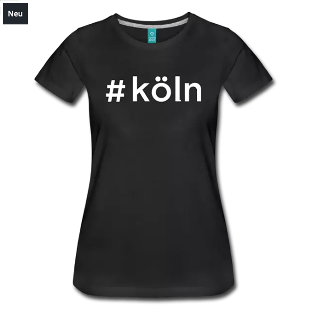 #köln Damen-Shirt